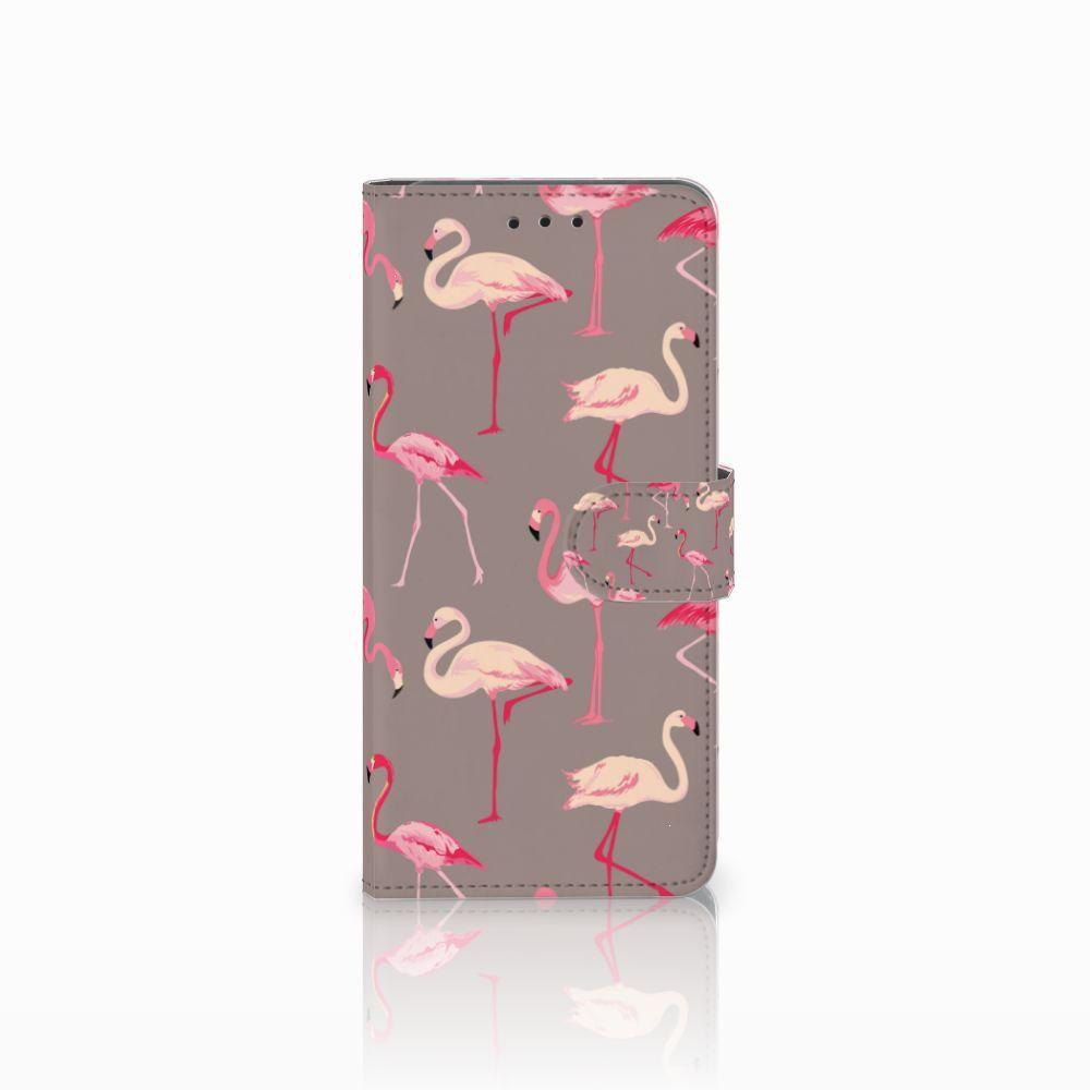 Huawei Mate 20 Pro Uniek Boekhoesje Flamingo