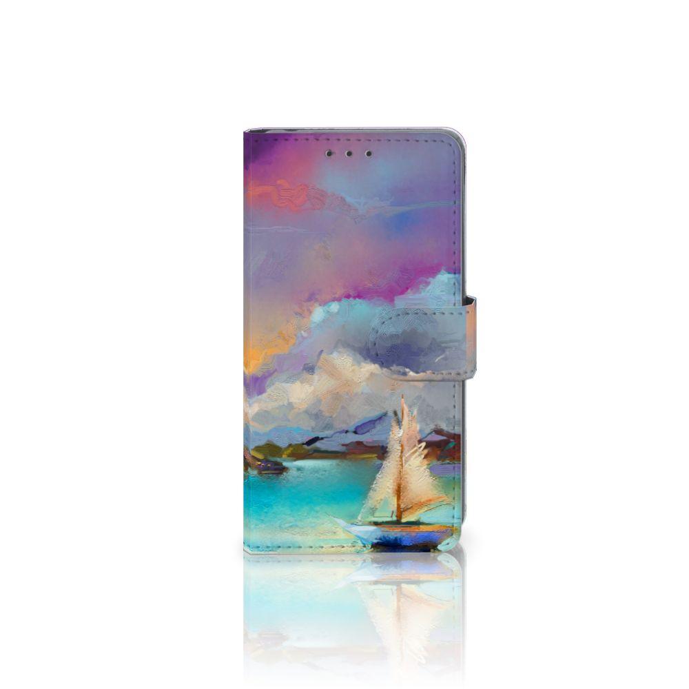 Sony Xperia Z2 Uniek Boekhoesje Boat