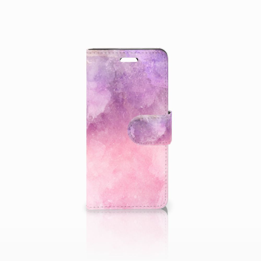 Acer Liquid Z330 Boekhoesje Design Pink Purple Paint