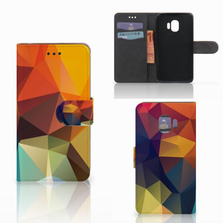 Samsung Galaxy J2 Pro 2018 Bookcase Polygon Color