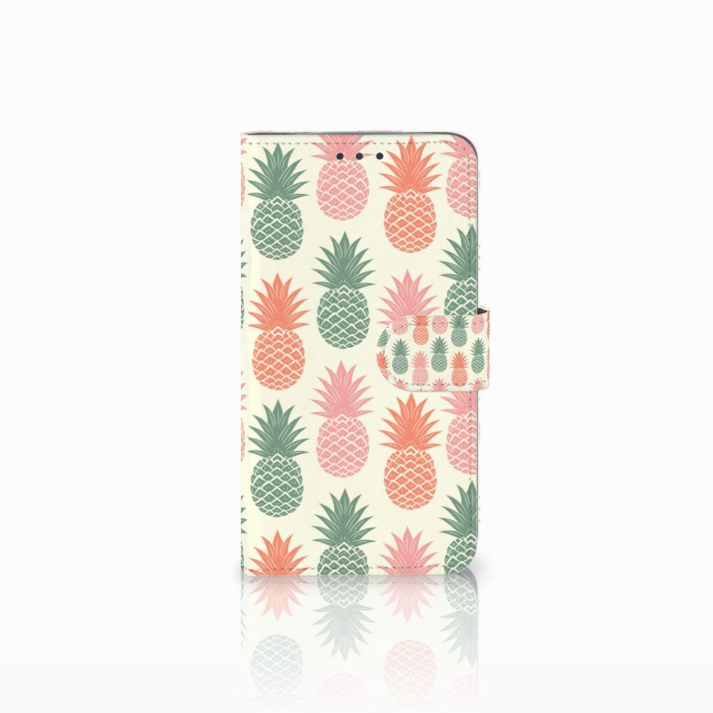 Motorola Moto E4 Plus Boekhoesje Design Ananas