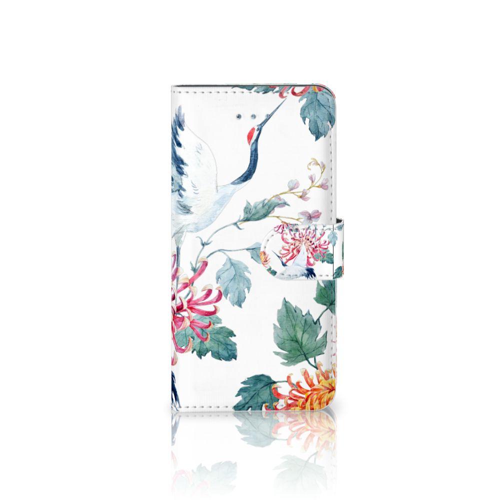Honor 4A | Y6 Uniek Boekhoesje Bird Flowers