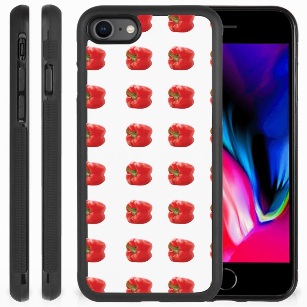 Apple iPhone 7 | 8 Silicone Case Paprika Red
