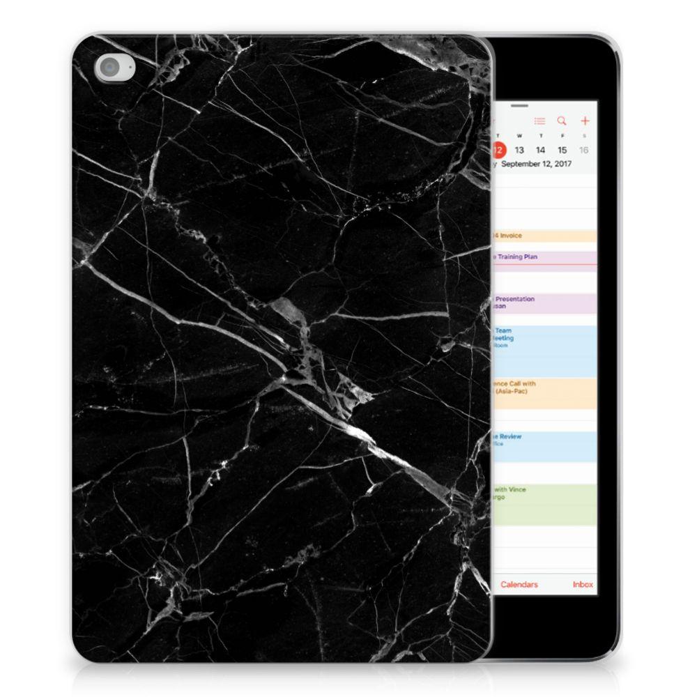 Apple iPad Mini 4 | Mini 5 (2019) Tablet Back Cover Marmer Zwart