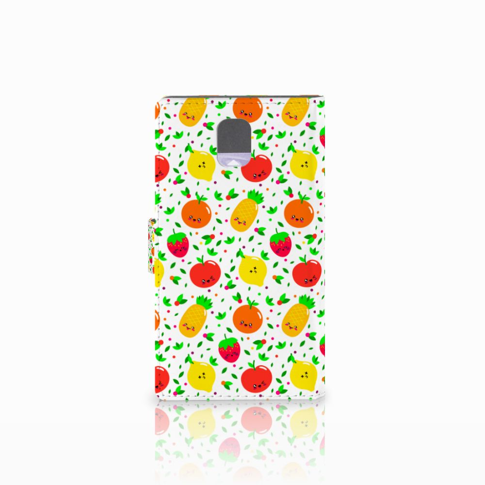Samsung Galaxy Note 3 Book Cover Fruits