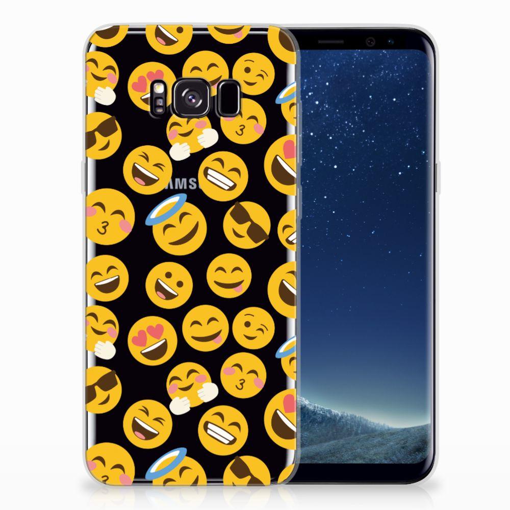 Samsung Galaxy S8 Plus TPU bumper Emoji