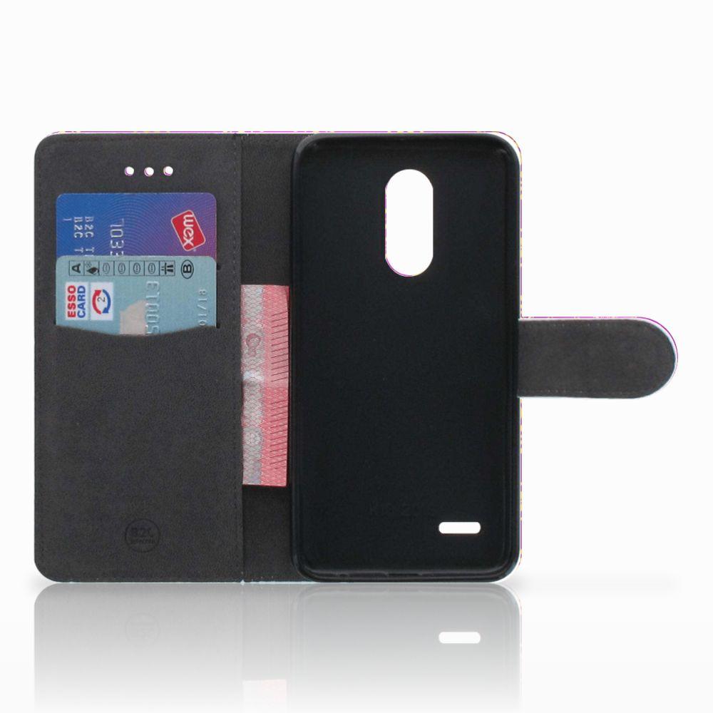 Wallet Case LG K11 Barok Roze