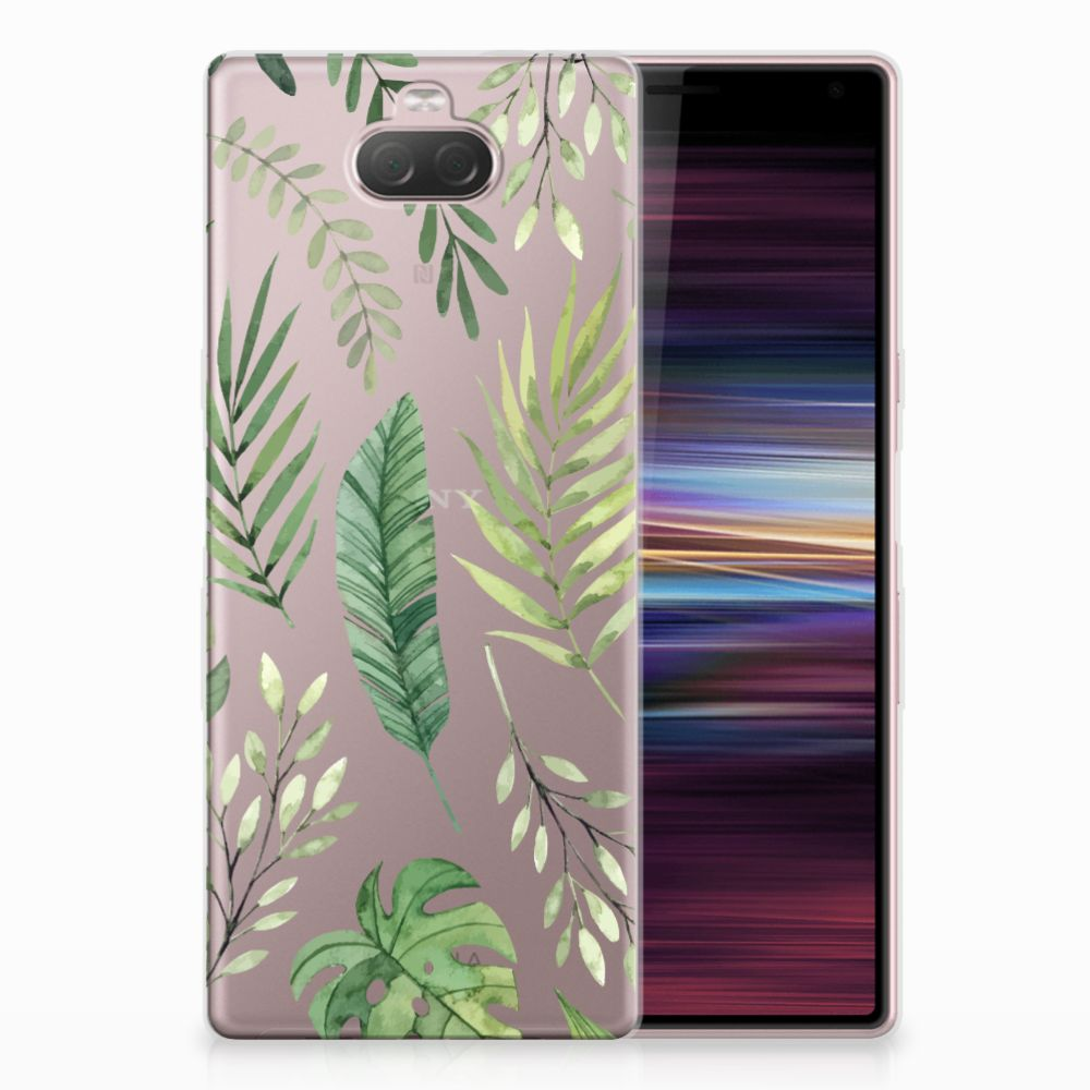 Sony Xperia 10 TPU Case Leaves