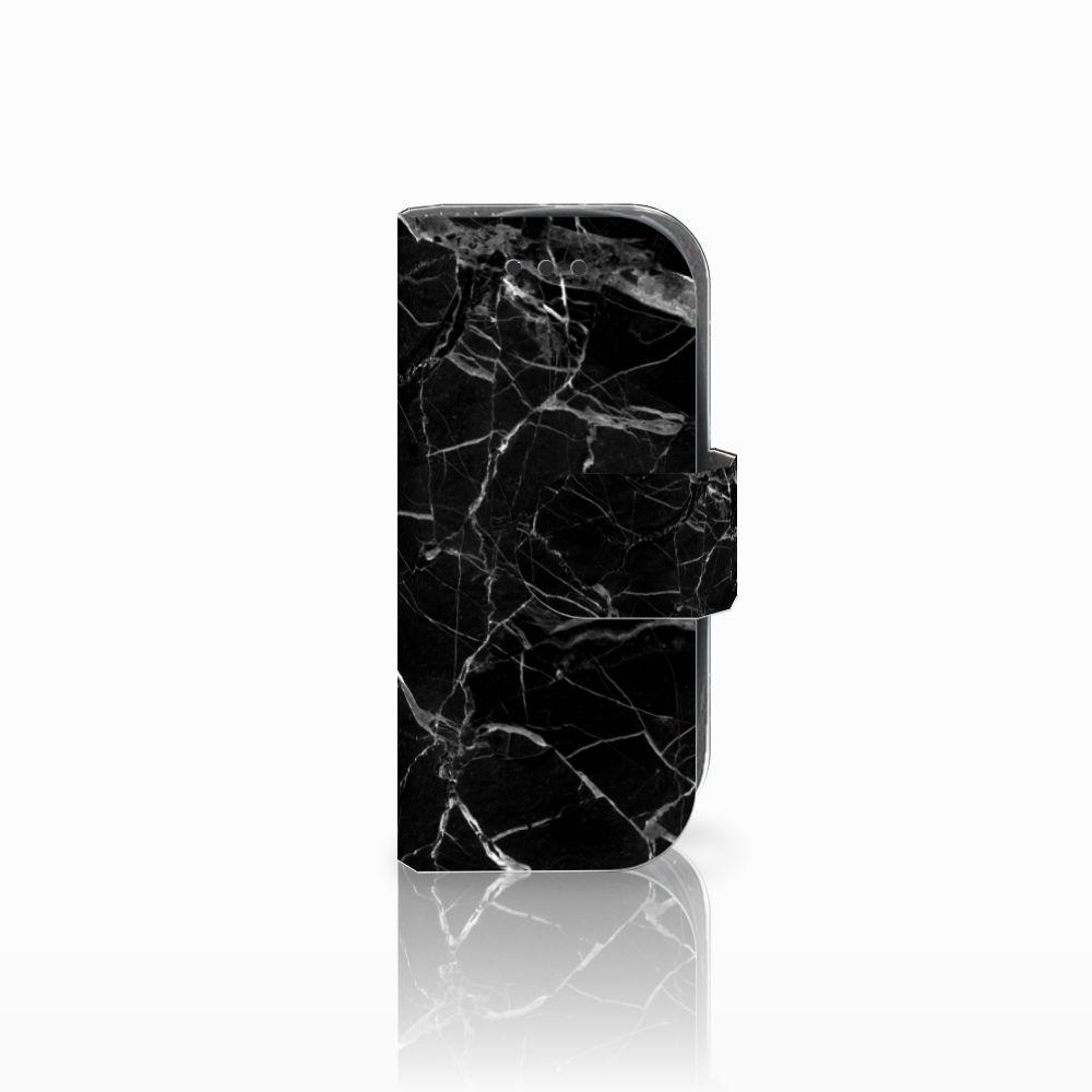Nokia 3310 (2017) Boekhoesje Marmer Zwart