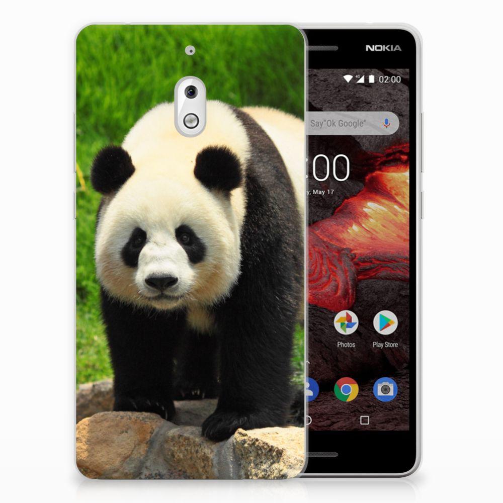 Nokia 2.1 (2018) TPU Hoesje Panda