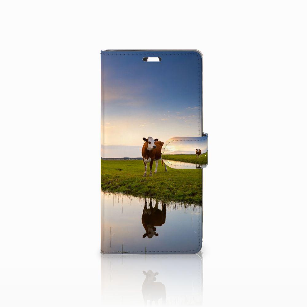 Sony Xperia C5 Ultra Boekhoesje Design Koe