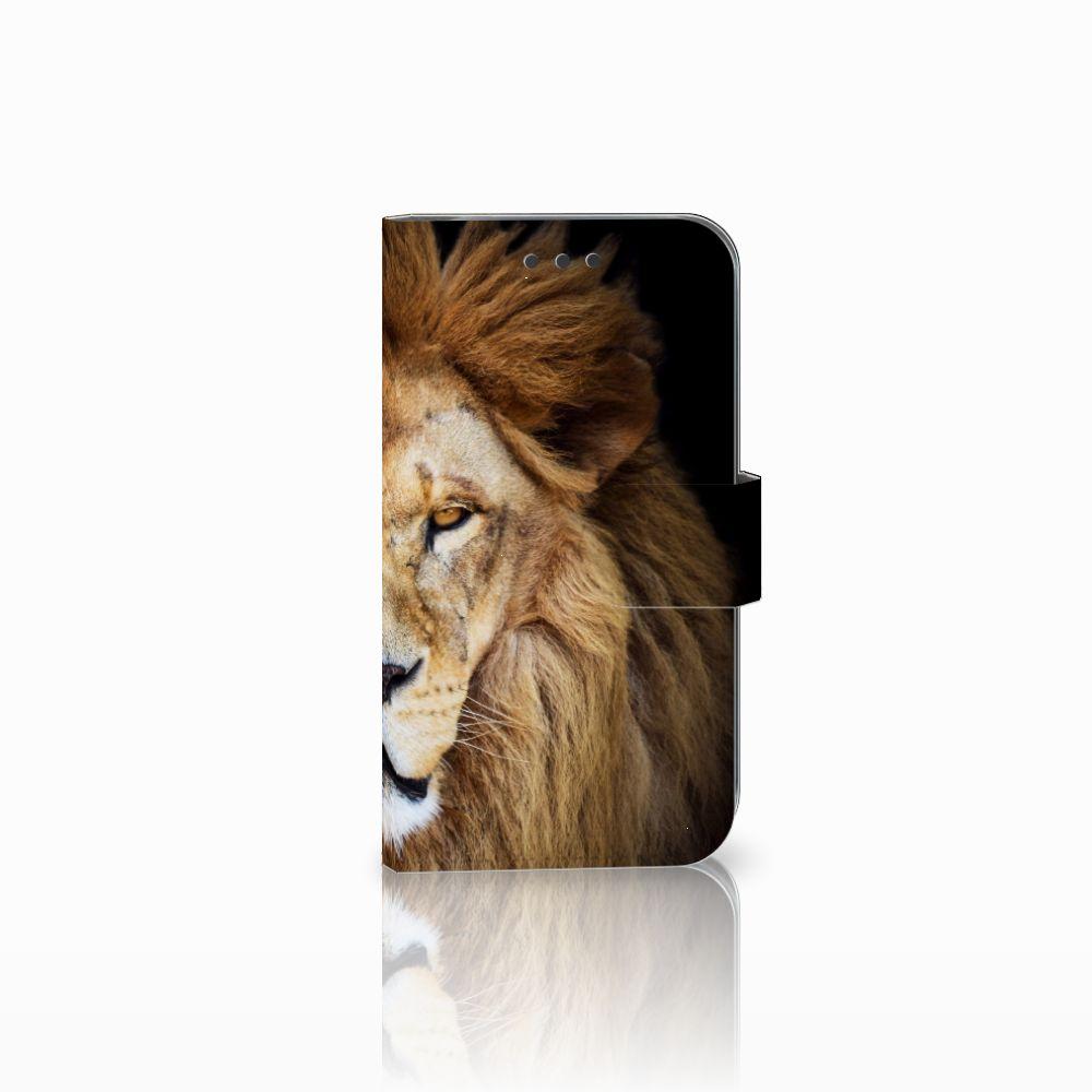Samsung Galaxy S3 i9300 Boekhoesje Design Leeuw