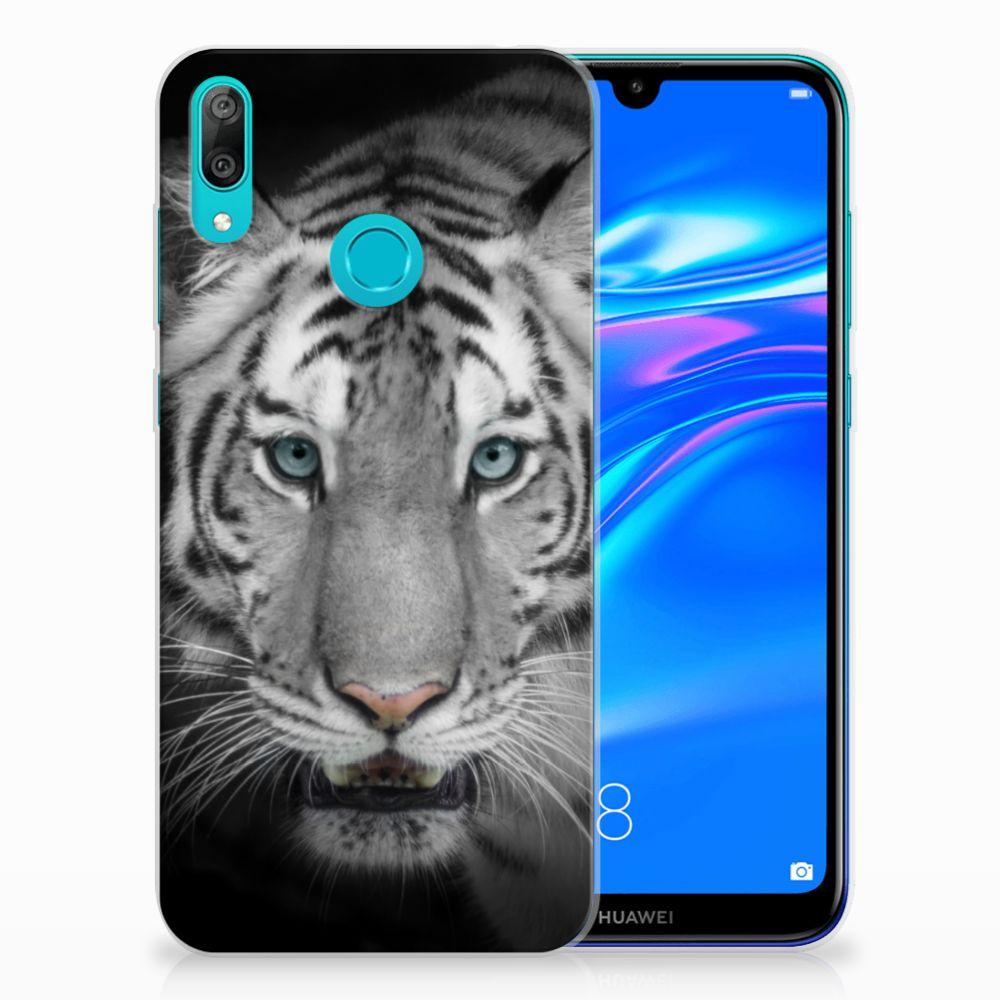 Huawei Y7 2019 TPU Hoesje Tijger