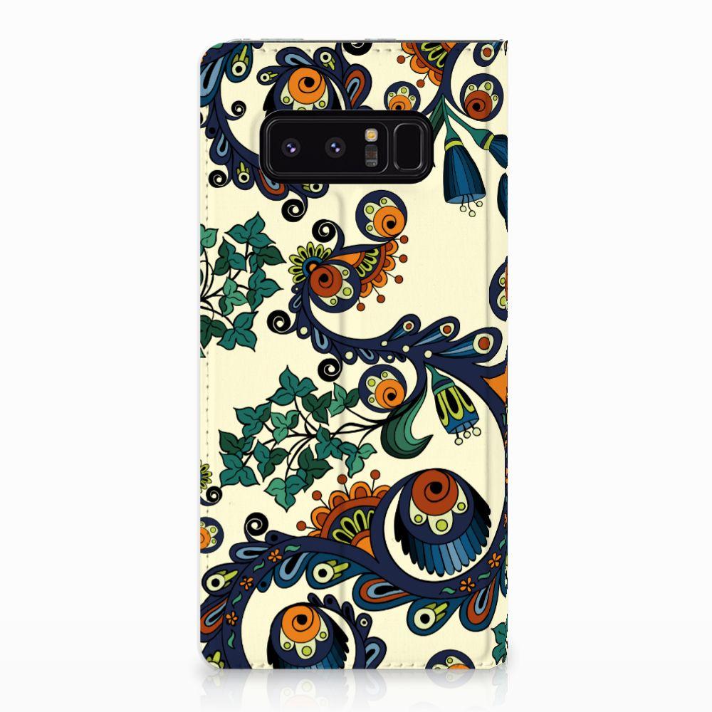 Telefoon Hoesje Samsung Galaxy Note 8 Barok Flower