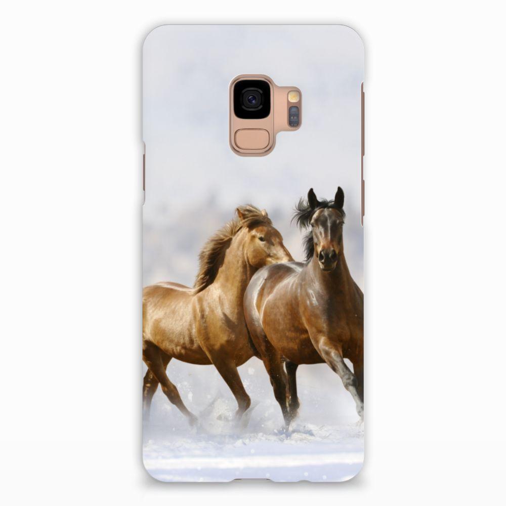 Samsung Galaxy S9 Uniek Hardcase Hoesje Paarden