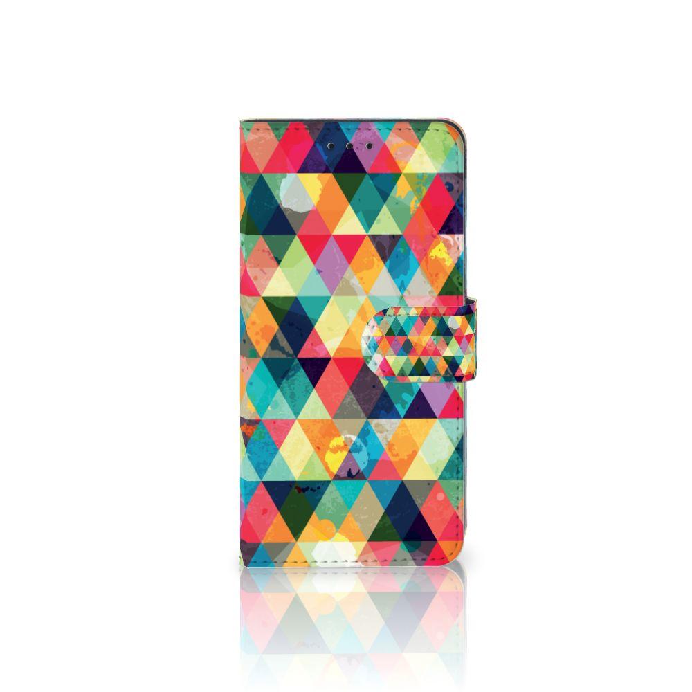 Huawei Mate 10 Pro Uniek Boekhoesje Geruit