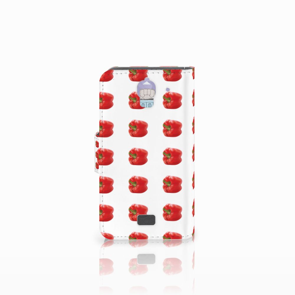 Huawei Y360 Book Cover Paprika Red