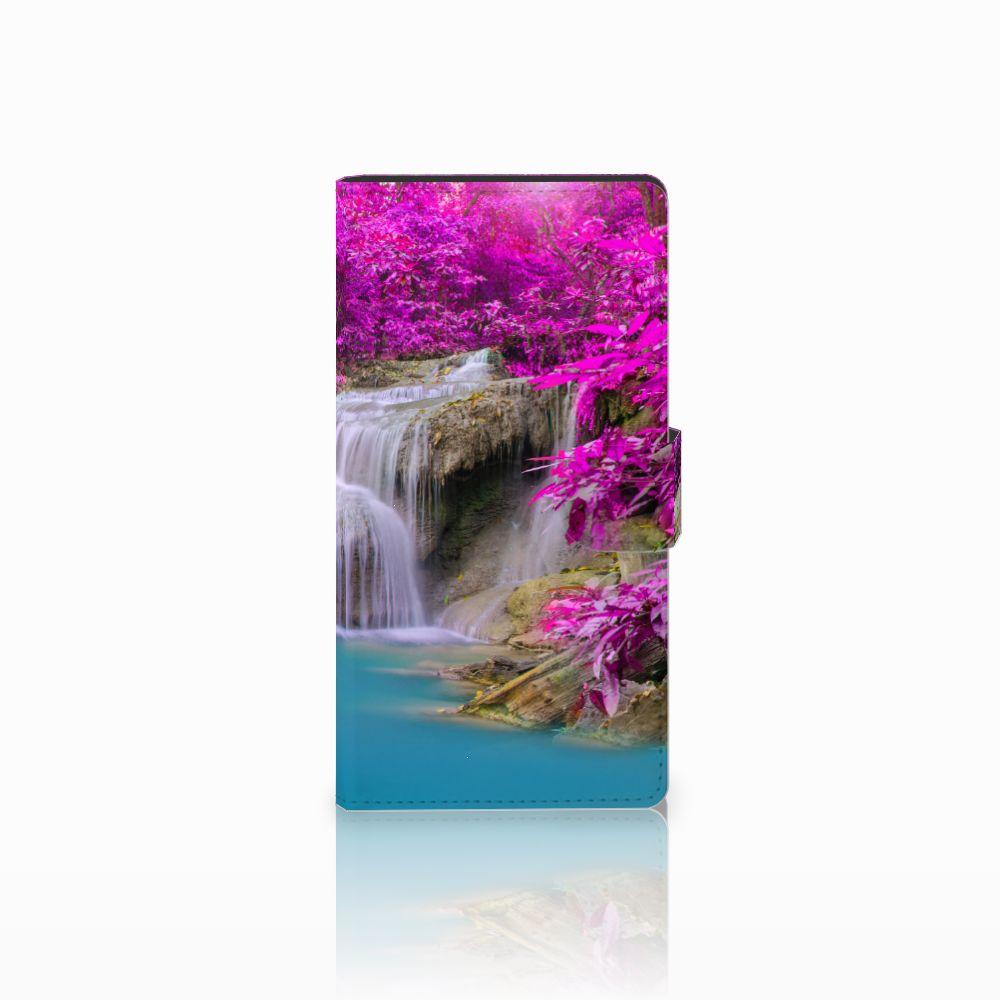 Sony Xperia C4 Uniek Boekhoesje Waterval