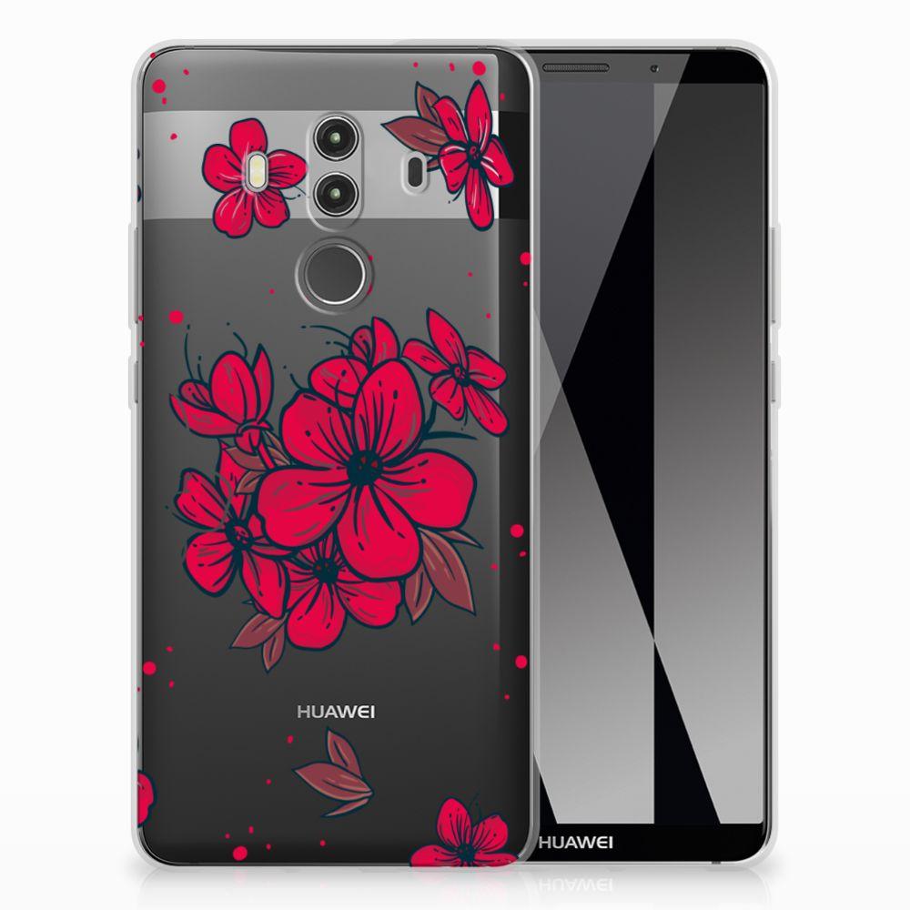 Huawei Mate 10 Pro TPU Case Blossom Red