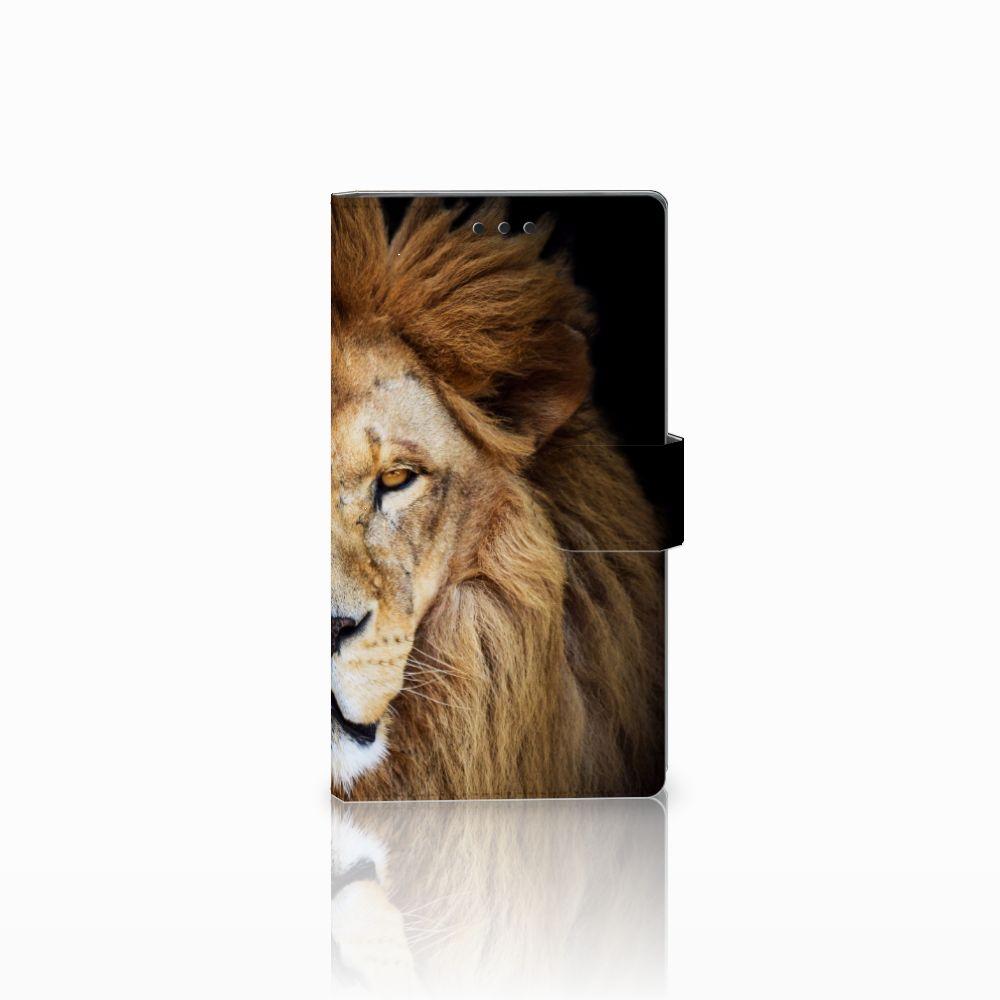 Sony Xperia L2 Boekhoesje Design Leeuw