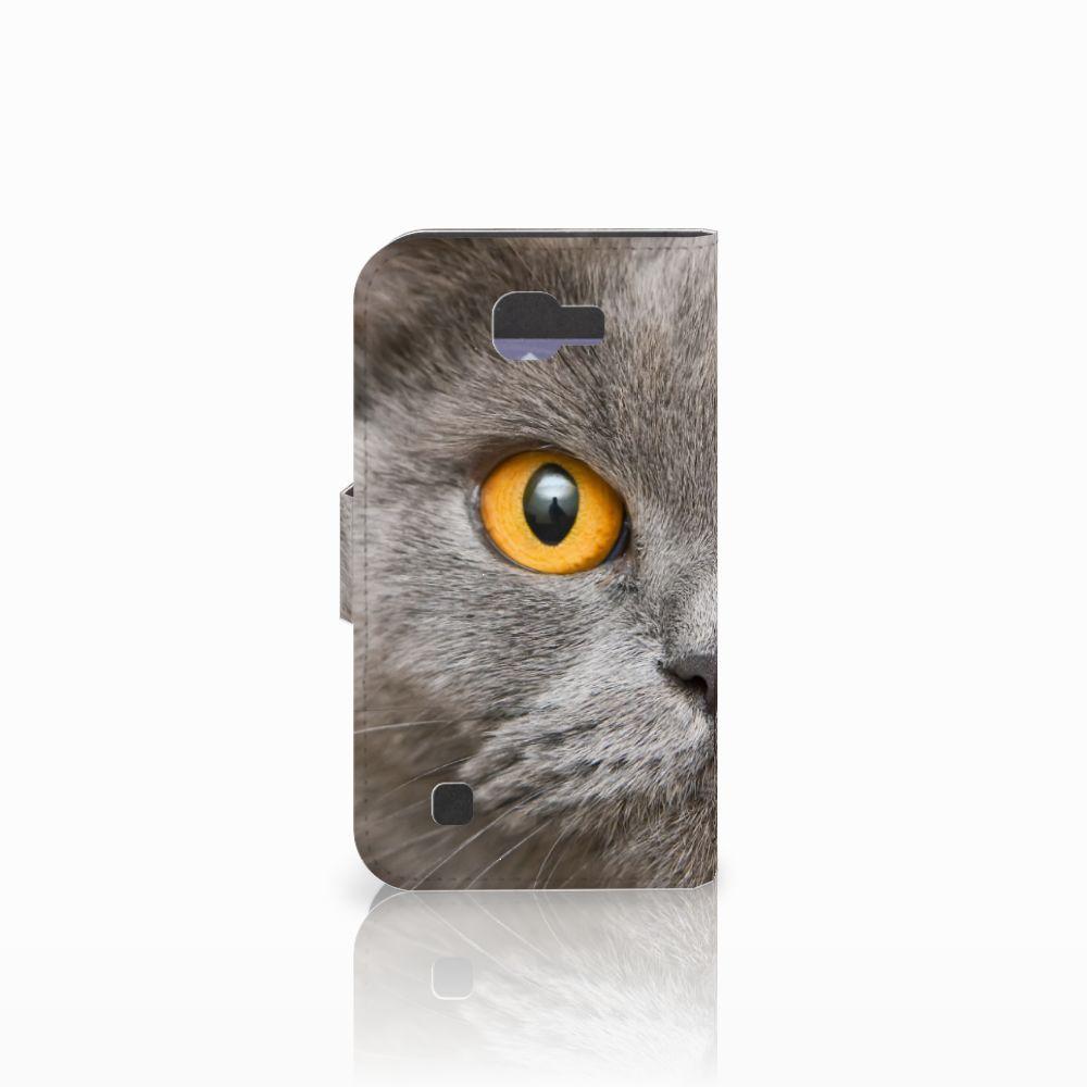 Telefoonhoesje met Pasjes LG K4 Britse Korthaar