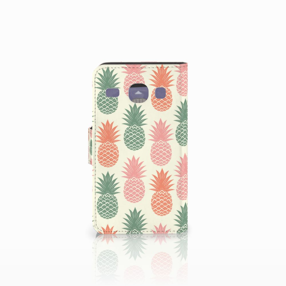 Samsung Galaxy Core i8260 Book Cover Ananas