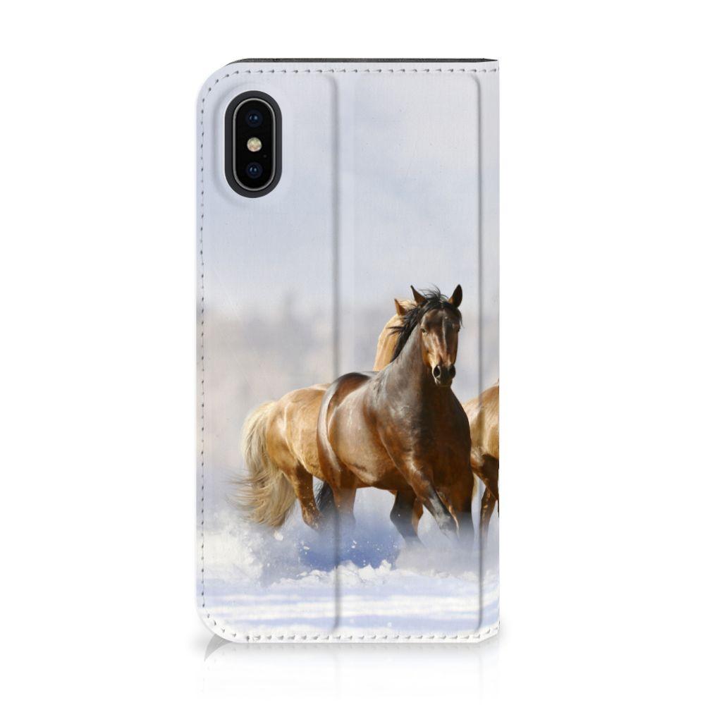 Apple iPhone X | Xs Hoesje maken Paarden