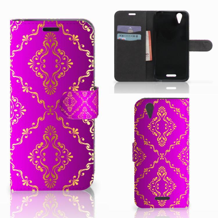 Wallet Case Acer Liquid Z630 | Z630s Barok Roze