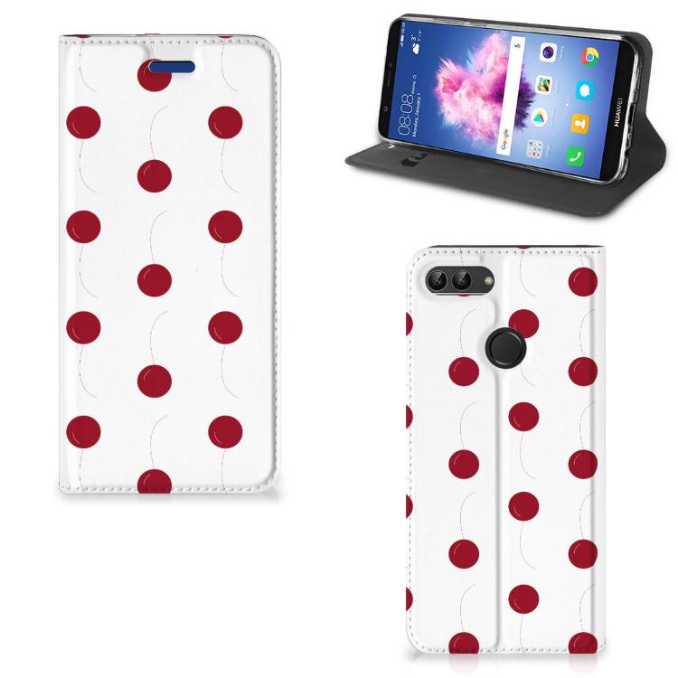 Huawei P Smart Flip Style Cover Cherries