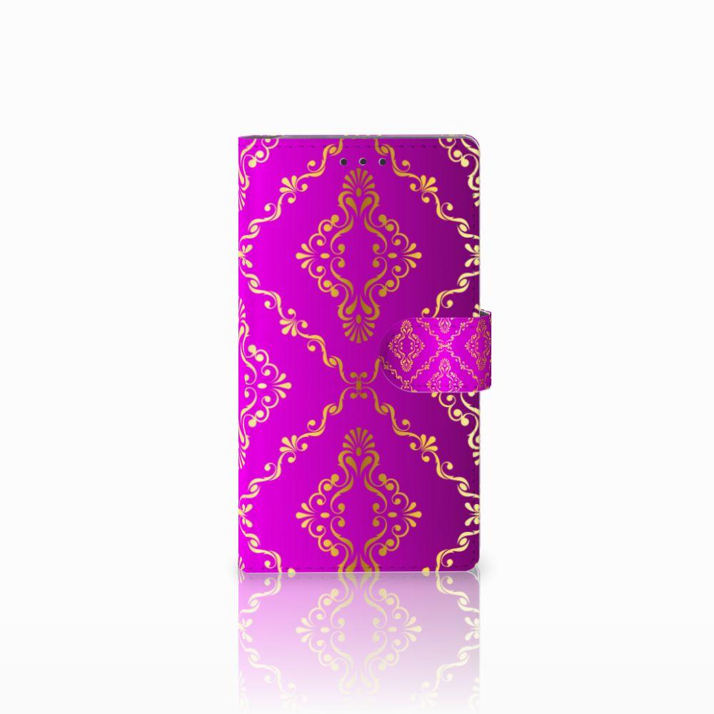 Samsung Galaxy Note 3 Uniek Boekhoesje Barok Roze
