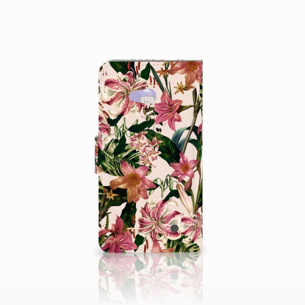 Microsoft Lumia 640 Hoesje Flowers