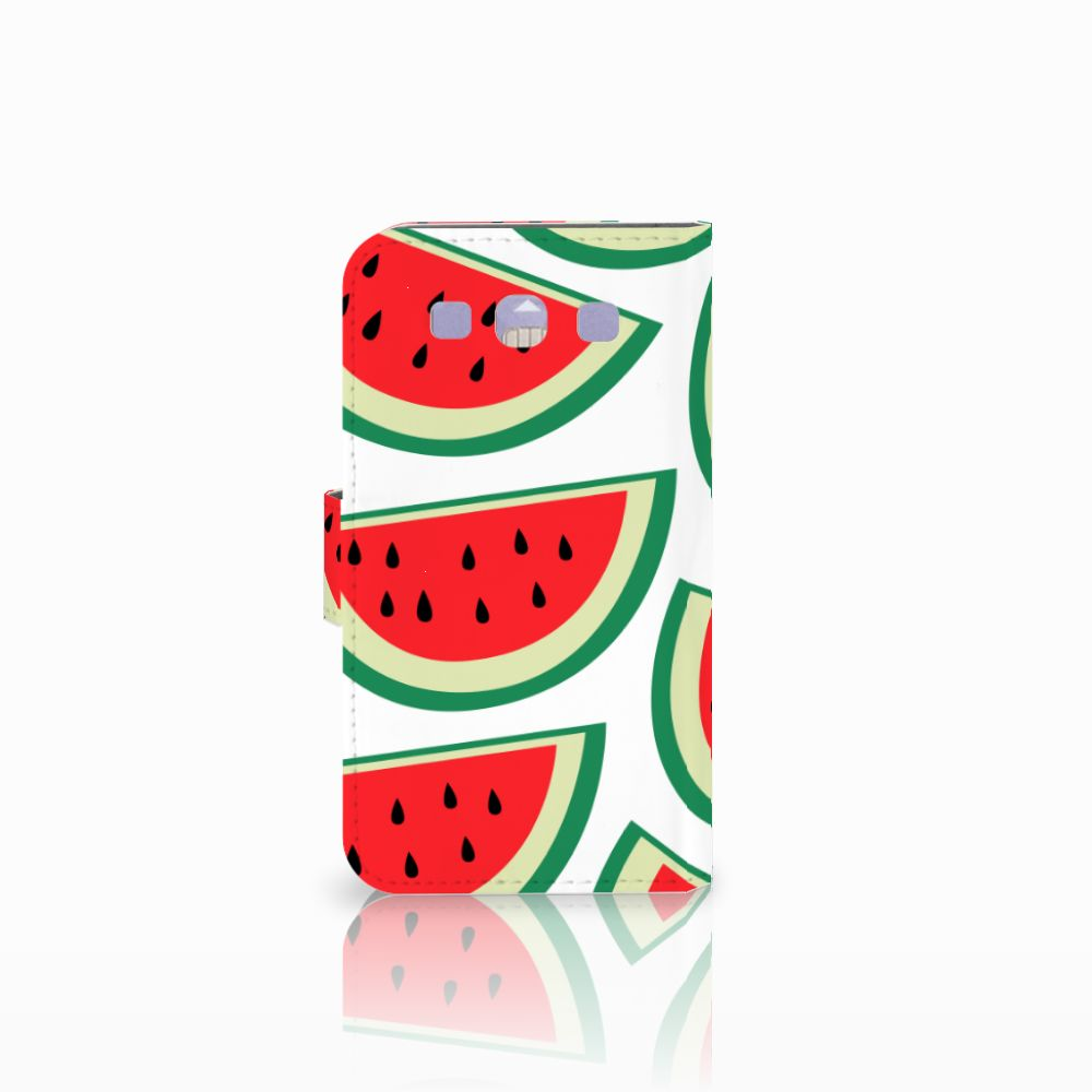 Samsung Galaxy S3 i9300 Book Cover Watermelons