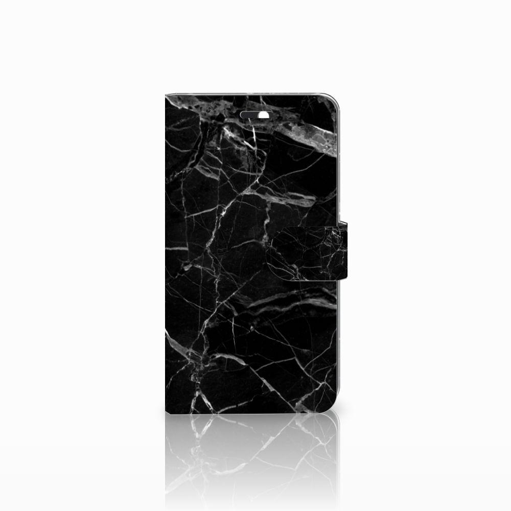 Huawei Y6 II | Honor 5A Boekhoesje Marmer Zwart