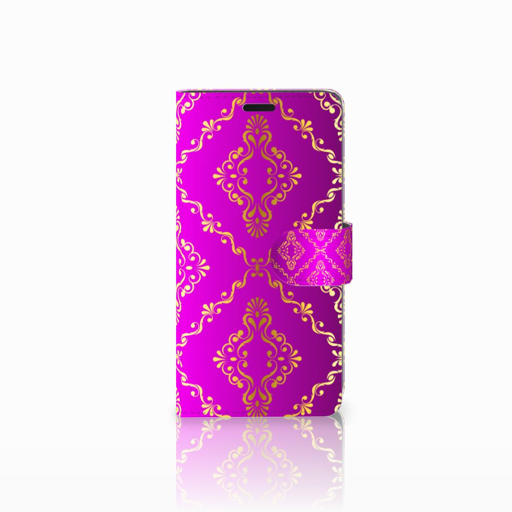 HTC Desire 530 Uniek Boekhoesje Barok Roze
