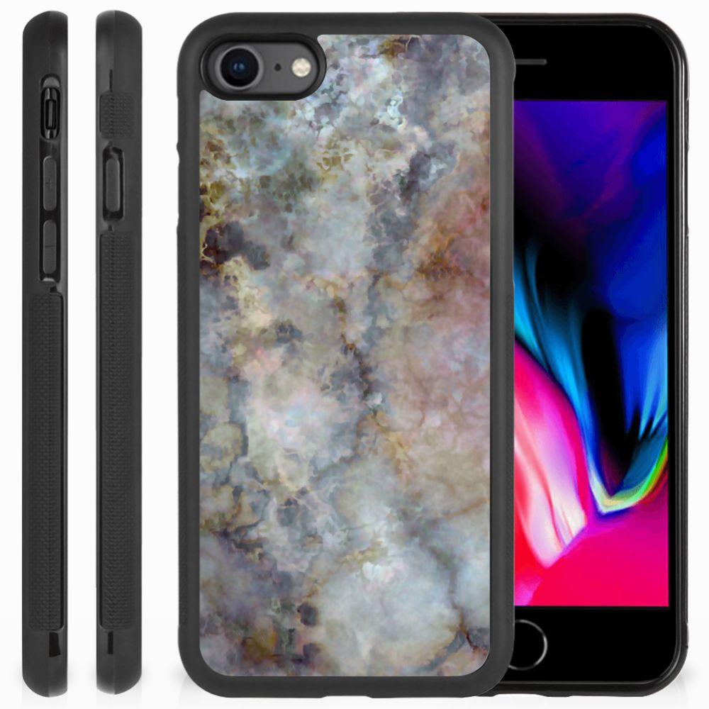 Apple iPhone 7 | 8 Gripcase Marmer Grijs