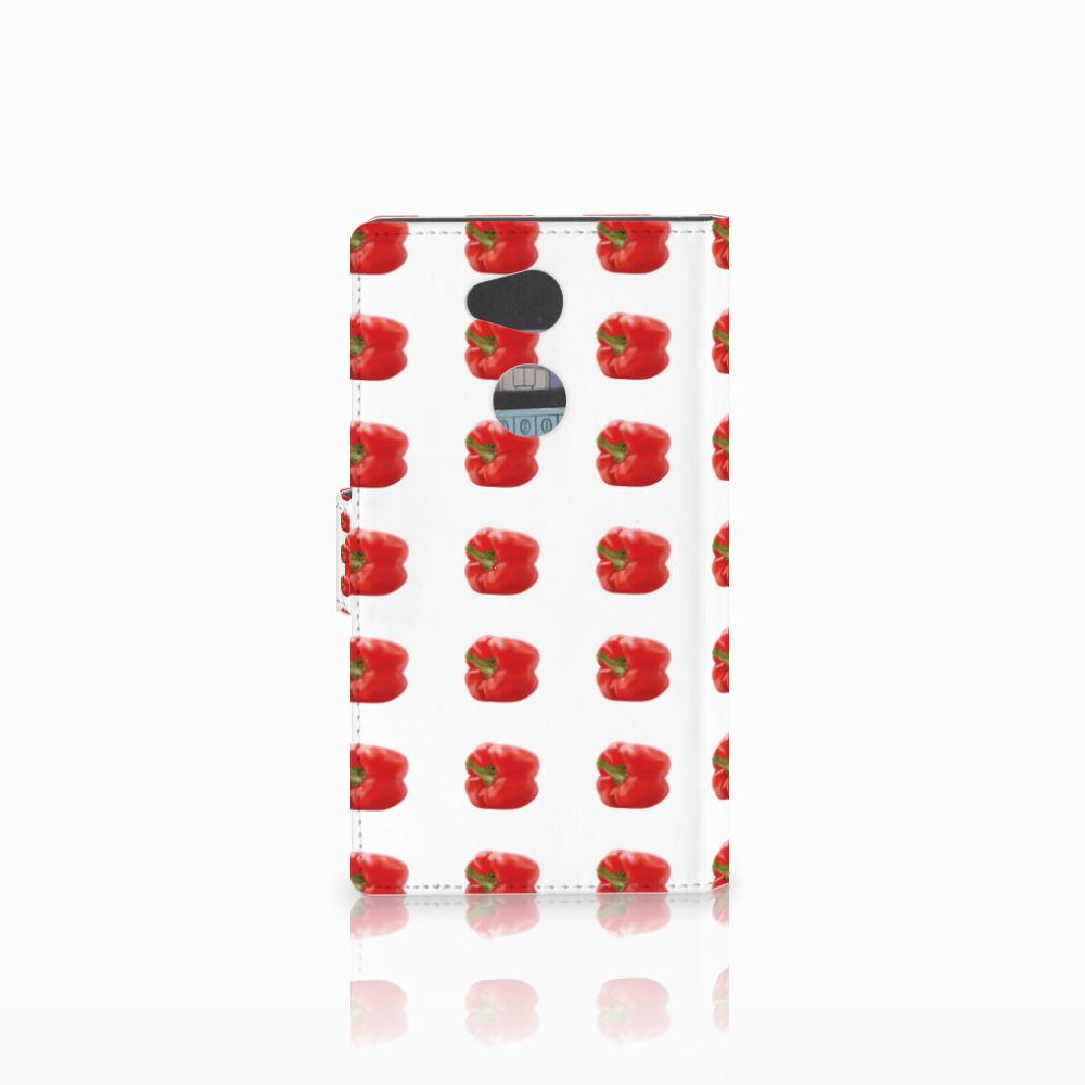 Sony Xperia L2 Book Cover Paprika Red