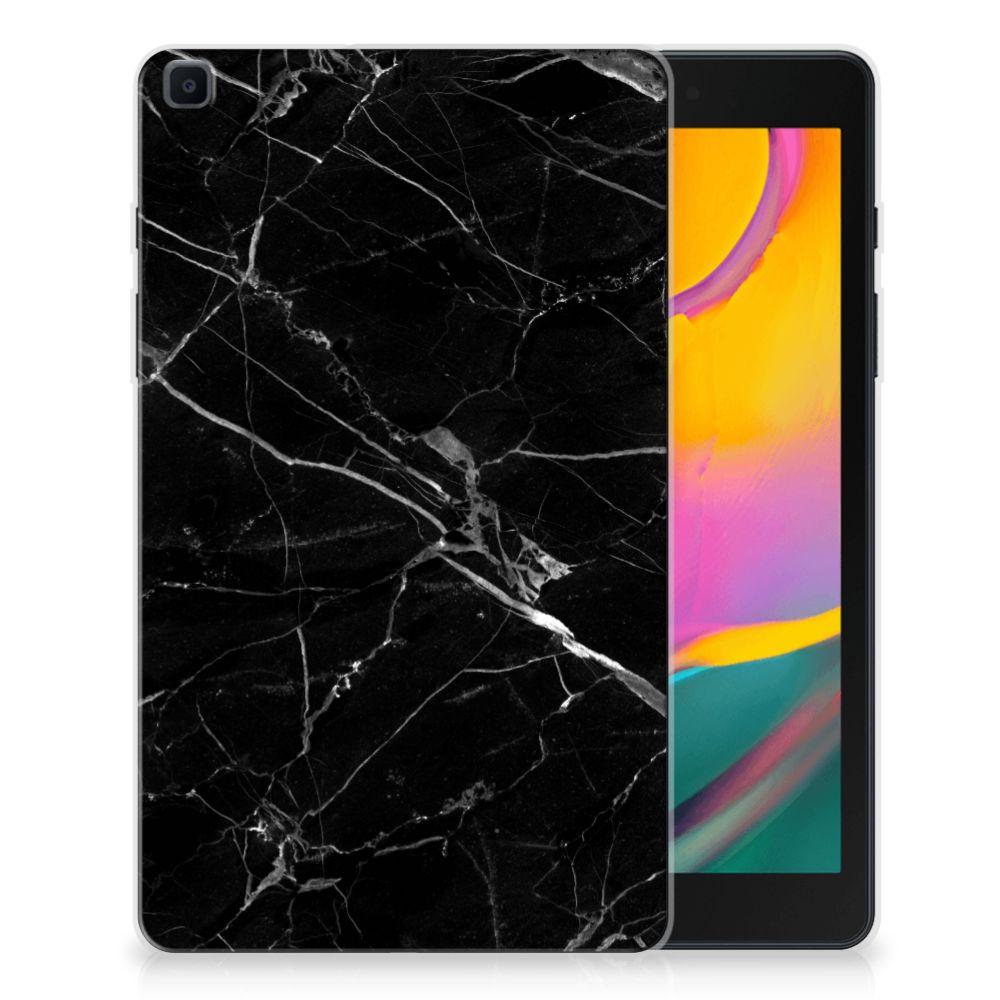 Samsung Galaxy Tab A 8.0 (2019) Tablet Back Cover Marmer Zwart