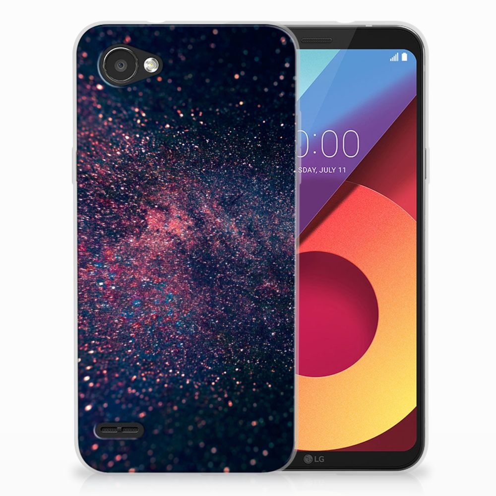 LG Q6   LG Q6 Plus TPU Hoesje Design Stars