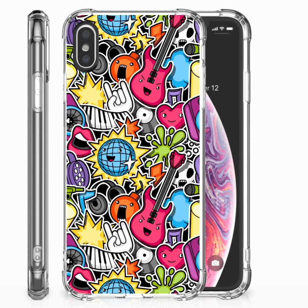 Apple iPhone X | Xs Anti Shock Bumper Case Punk Rock