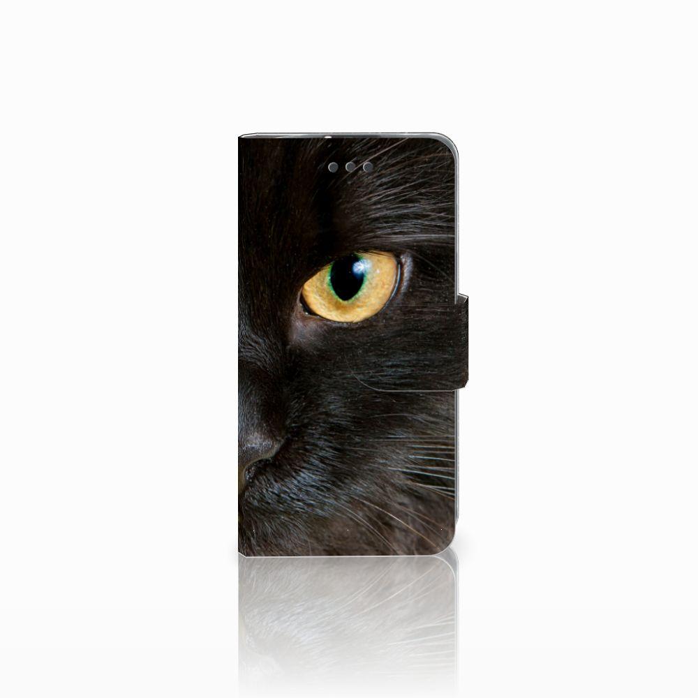 LG L70 Uniek Boekhoesje Zwarte Kat