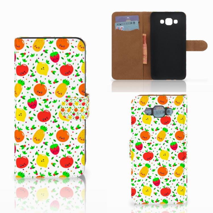 Samsung Galaxy E7 Book Cover Fruits