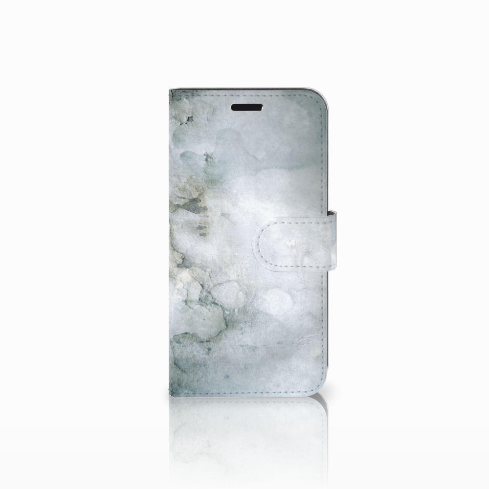 Huawei Nova Uniek Boekhoesje Painting Grey