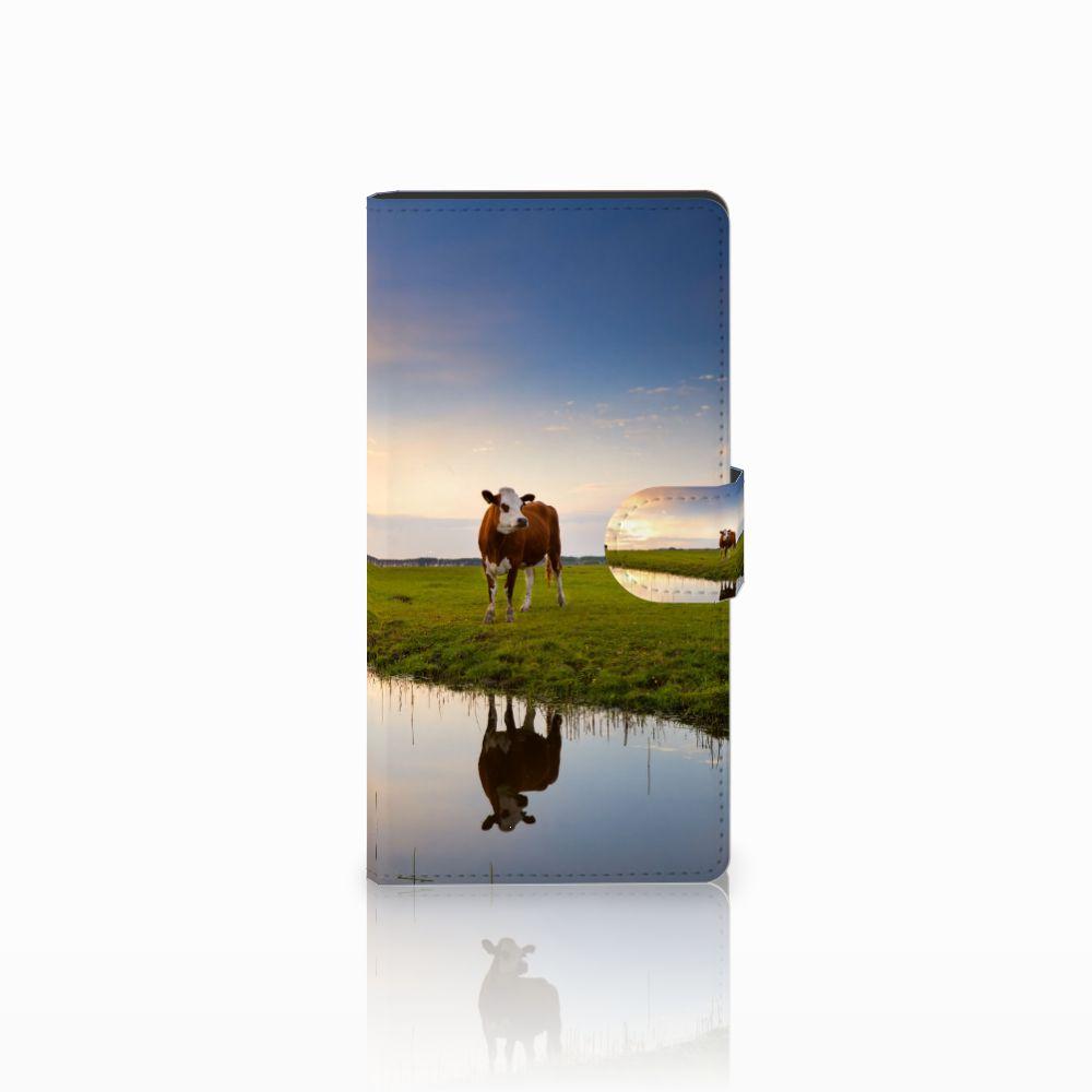 Sony Xperia C4 Boekhoesje Design Koe