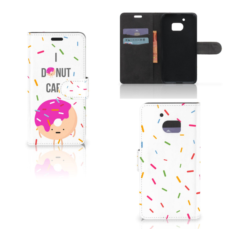 HTC 10 Book Cover Donut Roze