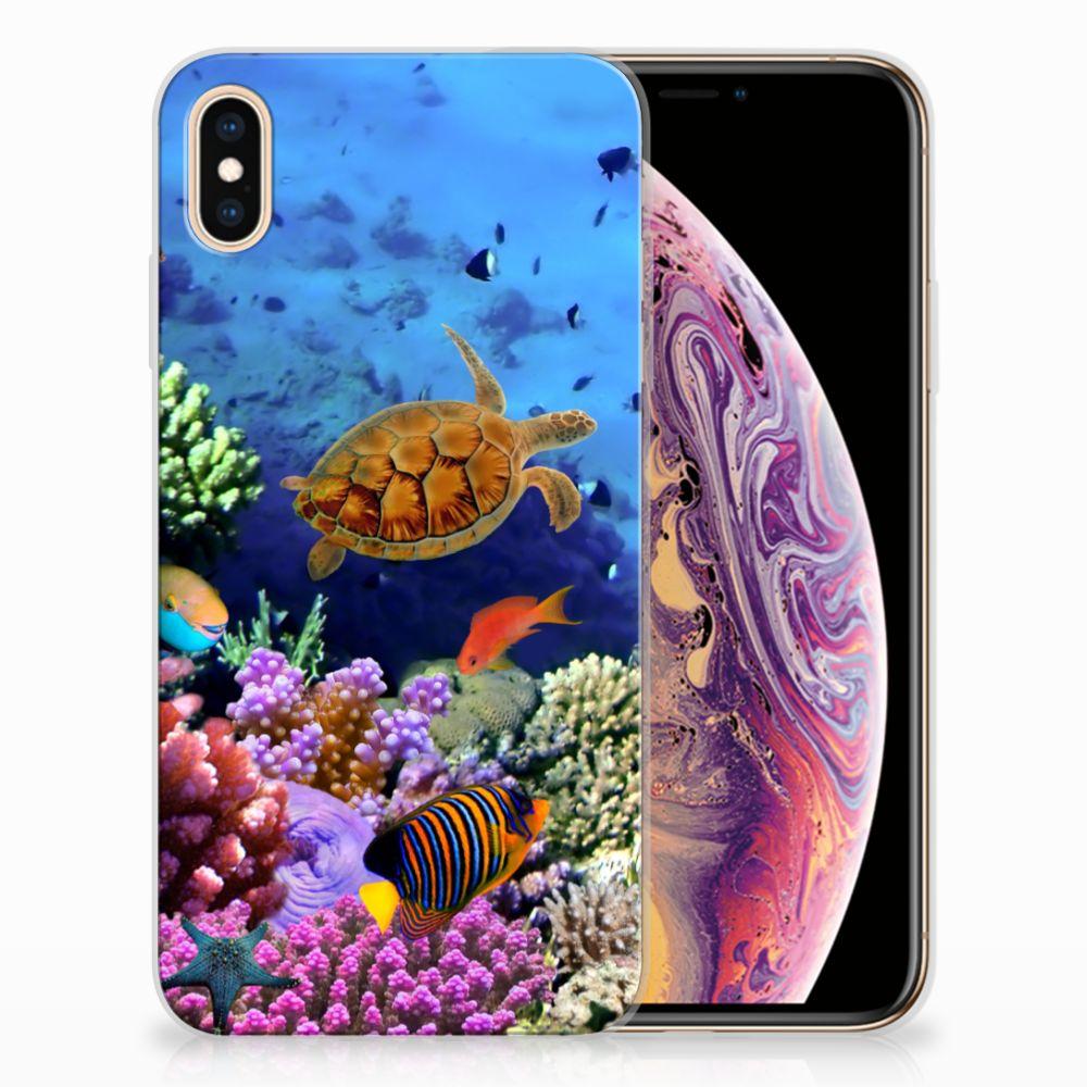 Apple iPhone Xs Max TPU Hoesje Design Vissen