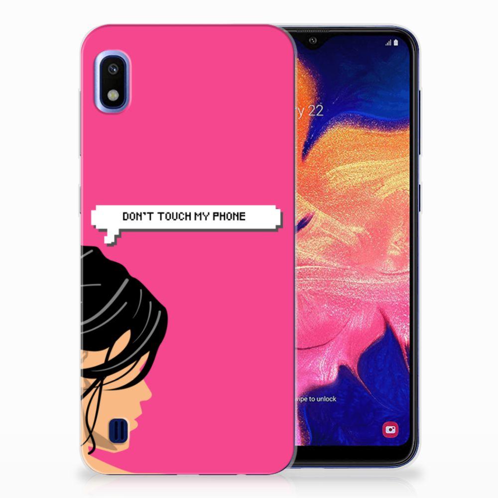 Samsung Galaxy A10 Uniek TPU Hoesje Woman DTMP