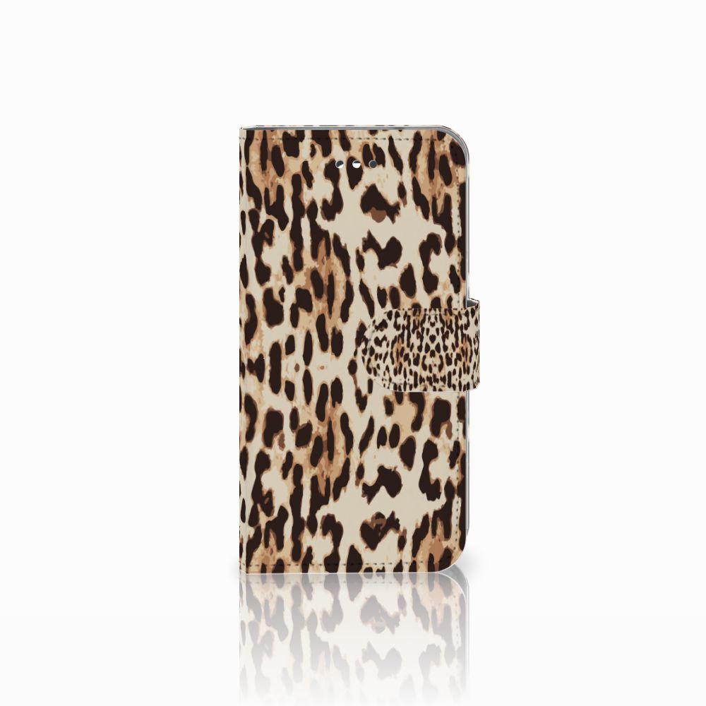 LG X Screen Uniek Boekhoesje Leopard