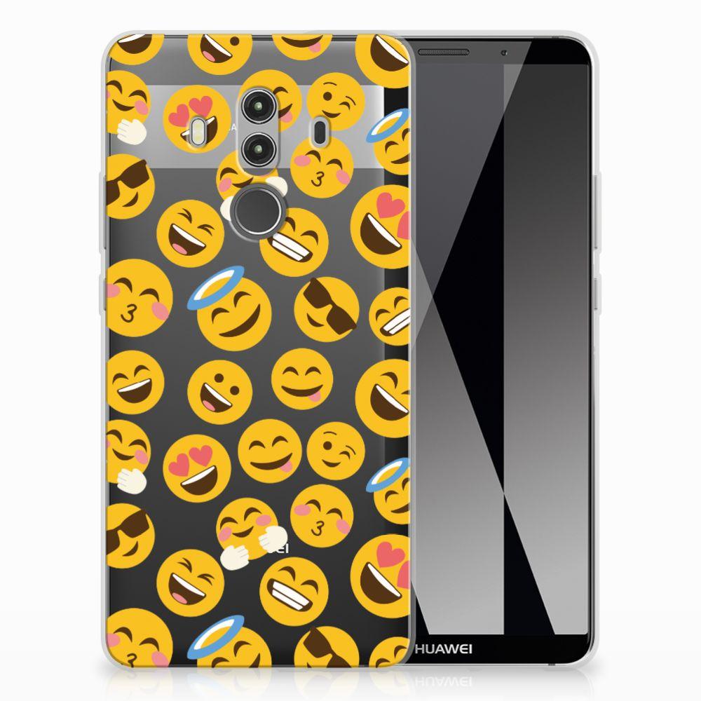 Huawei Mate 10 Pro TPU Hoesje Design Emoji