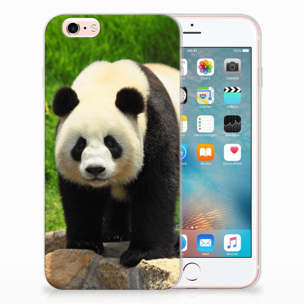 Apple iPhone 6 | 6s TPU Hoesje Design Panda