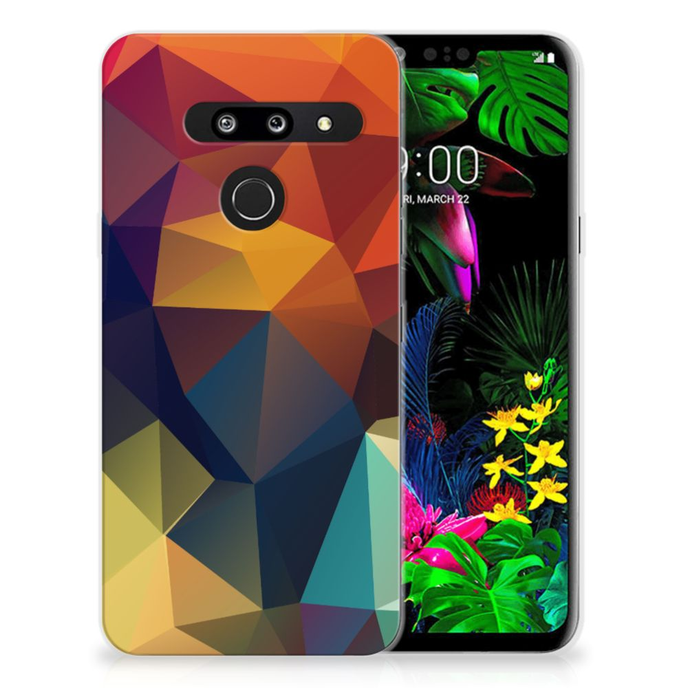 LG G8 Thinq TPU Hoesje Polygon Color